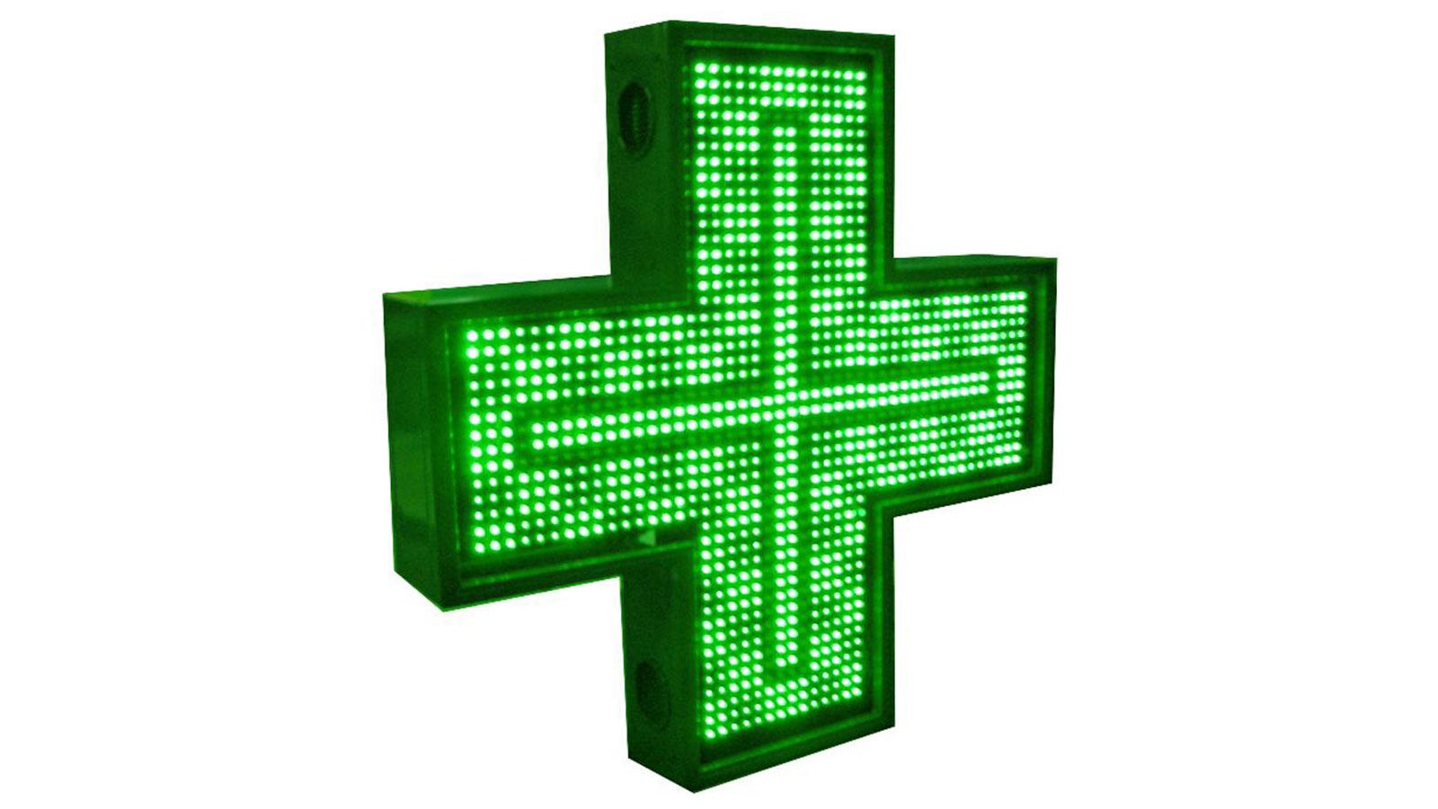 Cruces de farmacia de leds: Alpha